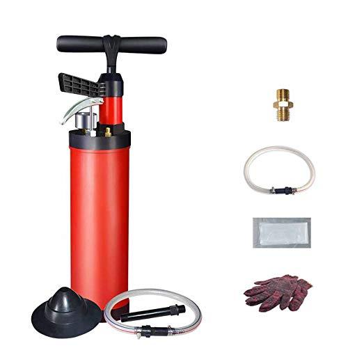 DENGSH Desatascador de Tuberias para Fregadero, Productos de Limpieza de la Bomba de Alta Presión,limpieza de desagües para eliminar obstrucciones en desagües/Como se muestra / 56 cm