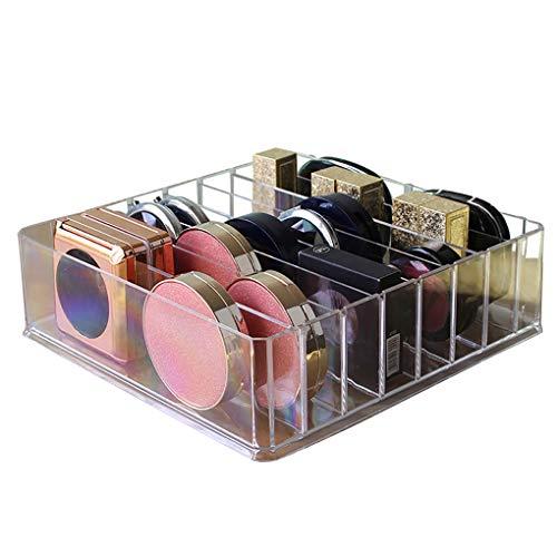 Flushzing Lippenstift Lidschatten Nagellack Transparente Aufbewahrungsbox Baumwolltupfer Makeup Puff...