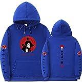 Y-PLAND Suéter con Capucha De Naruto, Sudadera Casual para Hombres Y Mujeres, Sudadera con Estampado De Itachi Akatsuki-10_L