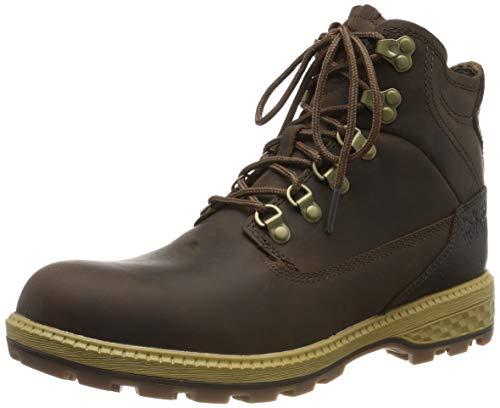 Jack Wolfskin Herren Jack MID M Combat Boots, Braun (Dark Wood/Mocca 5692), 42.5 EU