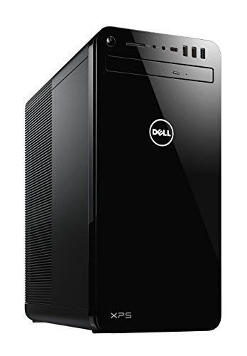 Dell XPS 8930 Unité Centrale Noir (Intel Core i7, 16Go de RAM, Disque Dur 2To + SSD 256Go, nVidia GTX 1070 8GB, Windows 10 Home)
