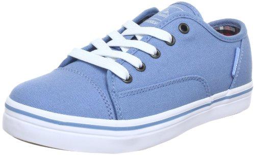 Quiksilver Little Ballast CVS KRBSL253, Jungen Sneaker, Blau (Blue White Gum), EU 38