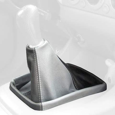 Black Leather-Black Thread RedlineGoods Shift Boot Compatible with Toyota Altezza 2001-05