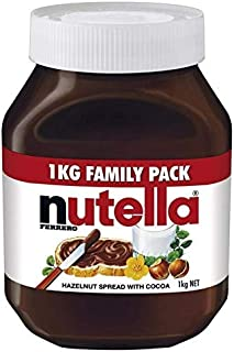 Nutella Avellana 1Kg Crema De Chocolate