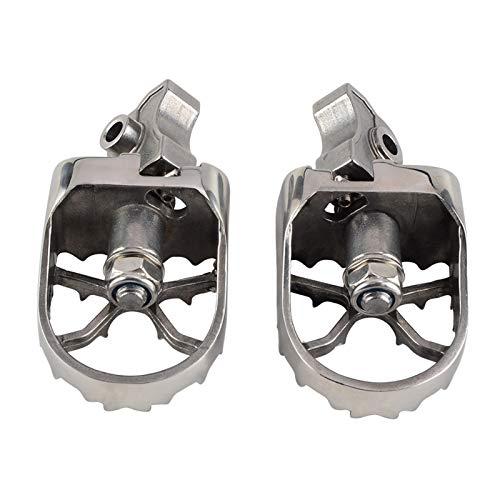 Poggiapiedi moto Pedane anteriori Poggiapiedi Peg per B&MW F650GS G650GS 2000-2012 F700GS F800GS 2008-2012 R1150GS ADV 00-05 R1200GS pedane
