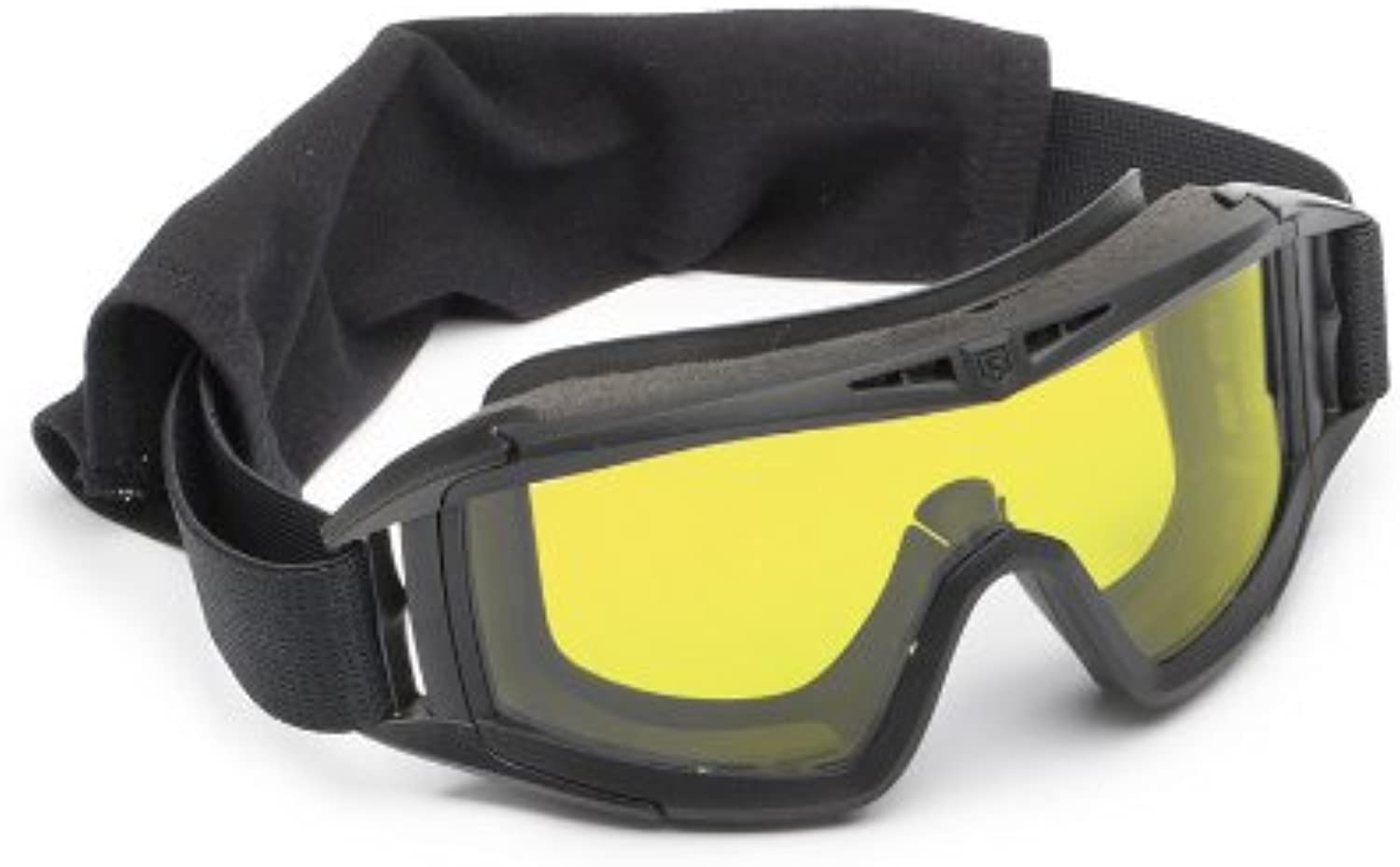 Revision Military Desert Locust Goggle Basic  Yellow HighConrast Lens  Black