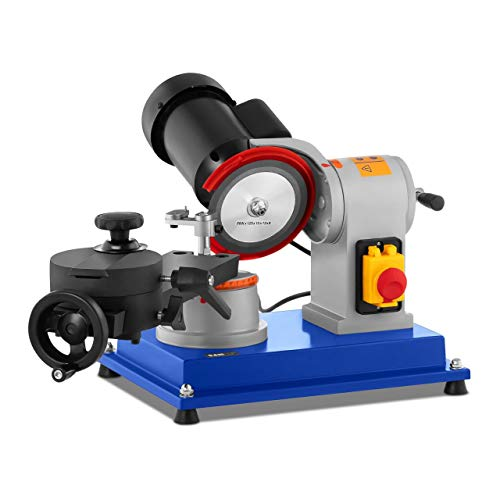 MSW Máquina Para Afilar Discos Afiladora MSW-CBS-250 (Autonivelado En Menos De 8 s, Tolerancia: ± 0,5 mm/m, Rosca Del Soporte: M16)