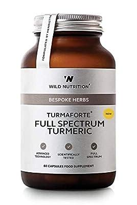 Wild Nutrition - Bespoke Herbs - Turmaforte Full Spectrum Turmeric - 60 Capsules