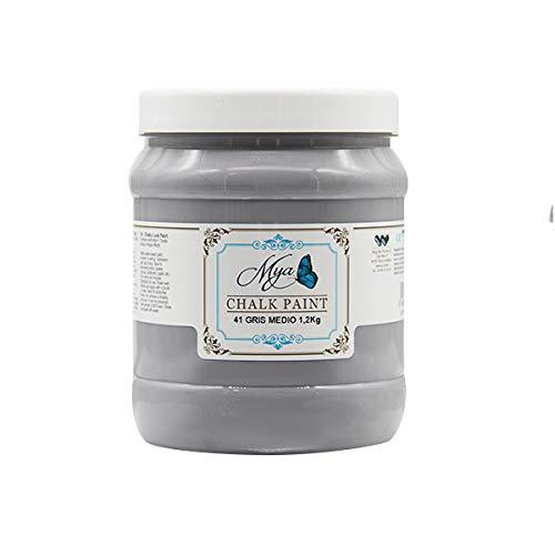 Chalk Paint MYA 41 Gris Medio, 1.2kg