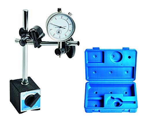 WABECO Magnet-Messstativ mit Messuhr Messuhrhalter in Kunststoffkoffer