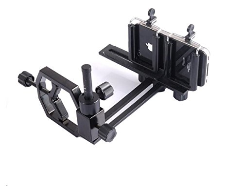 JOYOOO Universal Telefon Digitalkamera Adapter Halterung, für iPhone Sony Samsung Moto - Kamera- Spektiv/Teleskop/Mikroskop