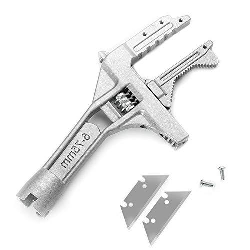 DUEBEL Juego de llaves de baño ajustables de aleación de aluminio de 6 a 75 mm