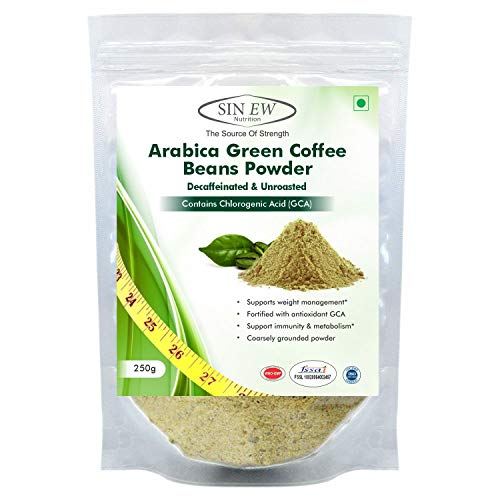 Sinew Nutrition Green Coffee Beans Powder for Weight Management - 250 g