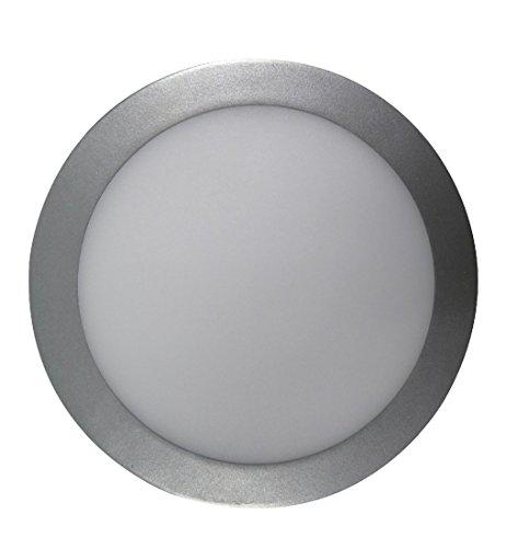 F-Bright Led Downlight LED, 18 W, Plata