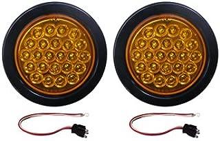 2 Amber LED Strobe Light 4