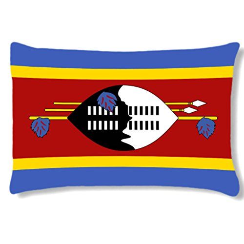 Grand coussin rectangulaire Swaziland by Cbkreation