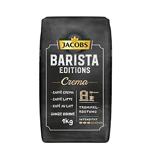 Jacobs Kaffeebohnen Barista Editions Crema, 1 kg Bohnenkaffee