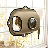 K&H Pet Products EZ Mount Window Bubble Pod Tan 27' x...