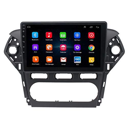 Sistema de navegación GPS SAT NAV de 25,4 cm con manos libres de velocidad de llamada y asistencia de carril POI, apto para Ford Mondeo (2011-2013)