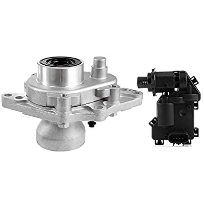 SCITOO 4WD Front Differential Axle Disconnect Intermediate Shaft Bearing Assembly With 4-Wheel Drive Plunger Actuator Fits 2002-2009 Trailblazer Envoy Bravada Ascender 9-7x 600-115