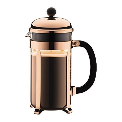 BODUM - 1928-18 - CHAMBORD - Cafetière à piston - 8 Tasses - 1.0 L