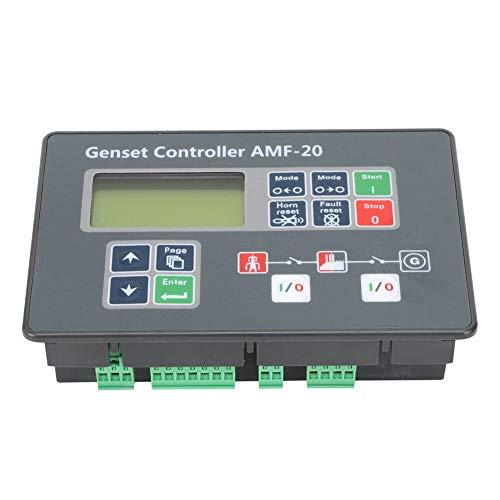 Estable Robusto Configuración del panel ajustable AMF-20 Controlador del grupo electrógeno Monitoreo...