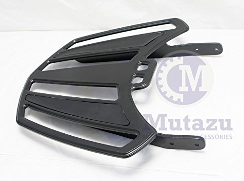 Black Aftermarket Billet Luggage Rack for Victory Cross Country Road (SB-34-B-R)