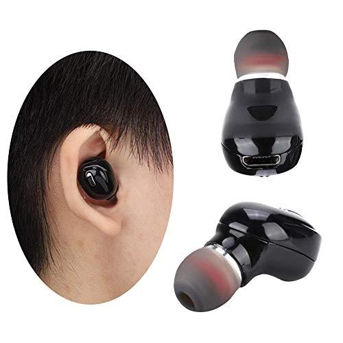 Auriculares inalámbricos Auriculares inalámbricos, Auriculares inalámbricos, Auriculares con Caja de Carga Conducción Ocio para Deportes para Estar en Forma(Black)