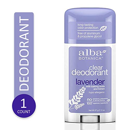 Alba Botanica Deodorant Stick Lavender 2 oz