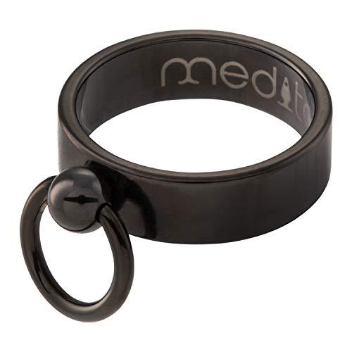 meditoys® - 'Anillo de O' - Modelo clásico en PVD negro