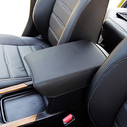 Leegi AAGIILEEYO Car Armrest Center Console Cover Armrest Box Cover Saver Black Fit for Honda CRV 2017 2018 2019 2020