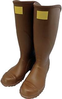 ワタベ 電気用ゴム長靴(先芯入り)26.5cm 242-26.5 絶縁靴
