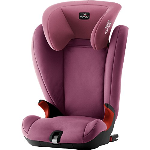 Britax Römer KIDFIX SL Kindersitz 15-36 kg, Autositz Isofix Gruppe 2/3, wine rose