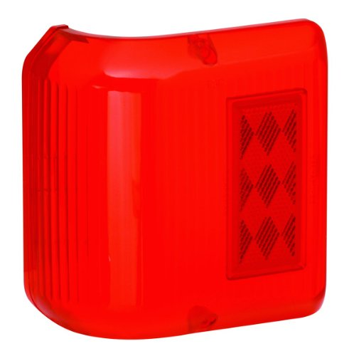 Bargman 34-86-711 Wrap Around Light #86 - Red Replacement Lens Only -  Horizon Global Corporation