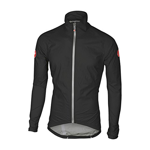Castelli Emergency Rain Jacket - Men's Black, L