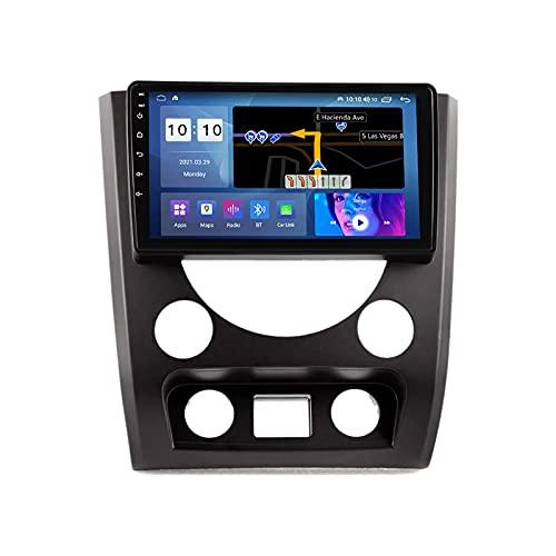 Coche Radio Estéreo Player Multimedia Para SsangYong Rexton W 2014-2016 Android Head Unit IPS Pantalla Táctil FM Receptor Support GPS Navegación Bluetooth Wifi 4G Carplay DSP,8 Core 4G+WiFi: 4+64GB