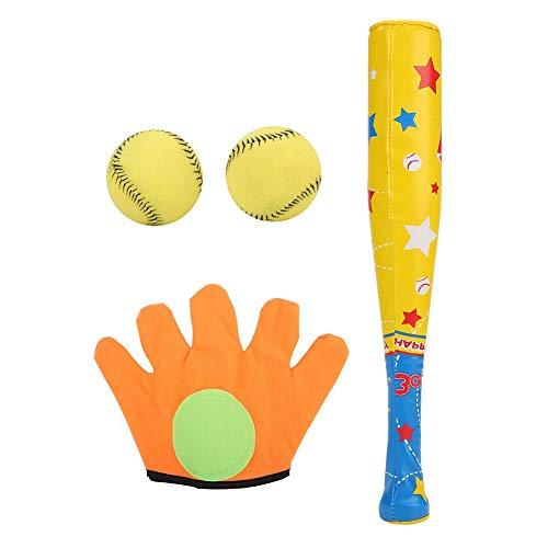 boogift Nerf Neopren Baseball Set, Mehrfarbig Kinder-Baseballschläger Outdoor Sport Team-Arbeit Toy Baseball-Set Best Interactive Spiel für Kinder und Erwachsene