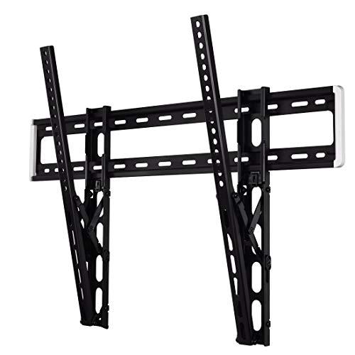 """Hama TV Halterung neigbar -12° (Wandhalterung für Flat TV 46"""" – 90"""", TV Wandhalterung inkl. Fischer Dübel u. Kabelführung, bewegliche Halterung bis VESA 800 x 600, max. 75 kg) schwarz"""