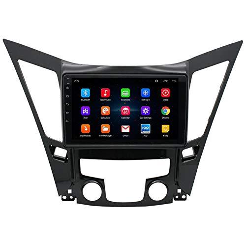WWJL Adecuado para Android Smart Navigator más Grande máquina Moderna e integrada de visualización de vídeo inverso de Ocho generación Sonata 9 Pulgadas Lector Bluetooth
