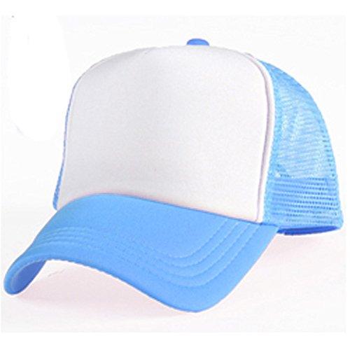 Gorra de béisbol azul de sublimación