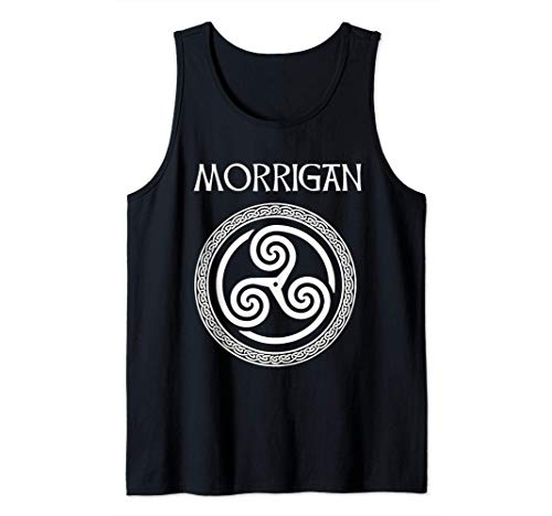 Morrigan Celtic Goddess of Witchcraft, Magic and Death Tank Top