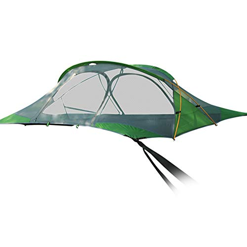 Qnlly Connect 4-Season Tree Tent 2-Person Hammock with Rainfly