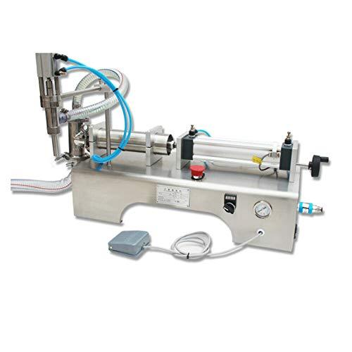 Wangkangyi Jasemy 100-1000ml Pneumatische Füllmaschine flüssige Abfüllmaschine Kosmetische Shampoo Automatisch Pneumatische flüssige Abfüllmaschine Füllmaschine Einzelrohr-pneumatische