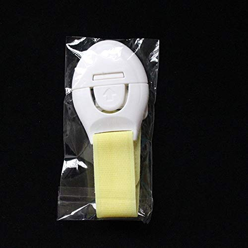 Phy - Cerradura de Seguridad Infantil (5 Piezas, Cierre de plástico, Ajustable)
