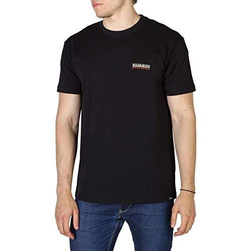 Napapijri Sase 1 t Shirt Black