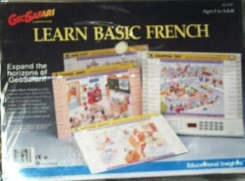 GeoSafari Learn Basic French Game Cards by GeoSafari