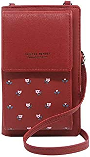 فورايفير ميموري حقيبة للنساء-احمر - حقائب طويلة تمر بالجسم