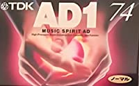 TDK オーディオ カセットテープ AD1 74分 AD1-74N