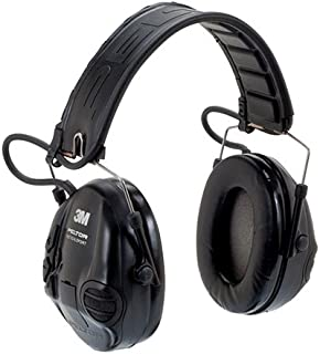 Tactical Headset, Over The Head, Black