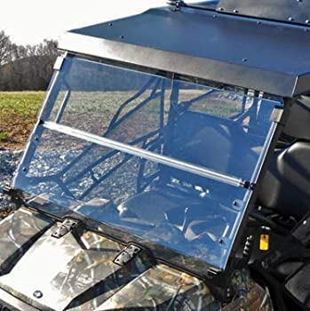 Bad Dawg Accessories 693-6512-00 Folding Front Windshield for 2010-2014 Polaris Ranger 800